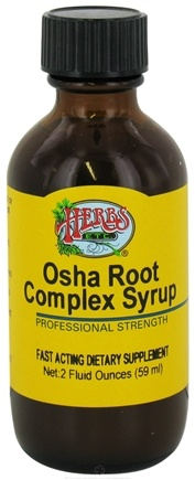 DROPPED: Herbs Etc - Osha Root Complex Syrup Professional Strength - 2 oz. CLEARANCE PRICED