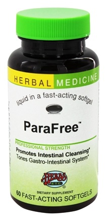 DROPPED: Herbs Etc - ParaFree Alcohol Free - 60 Softgels