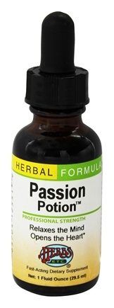 DROPPED: Herbs Etc - Passion Potion Professional Strength - 1 oz.