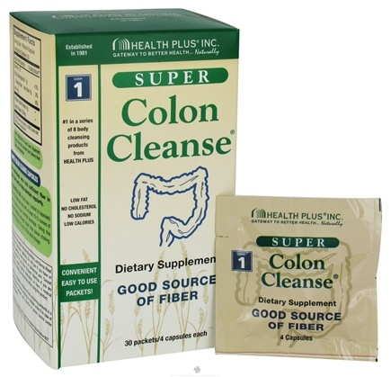 DROPPED: Health Plus - Super Colon Cleanse Packets - 30 Packet(s) CLEARANCE PRICED