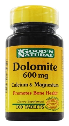 DROPPED: Good 'N Natural - Dolomite Calcium & Magnesium 600 mg. - 100 Tablets