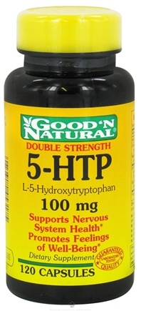 DROPPED: Good 'N Natural - 5-HTP L-5-Hydroxytryptophan 100 mg. - 120 Capsules