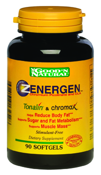 DROPPED: Good 'N Natural - Zenergen Tonalin & Chromax - 60 Softgels