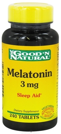 DROPPED: Good 'N Natural - Melatonin 3 mg. - 240 Tablets