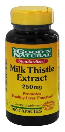 DROPPED: Good 'N Natural - Milk Thistle 250 mg. - 100 Capsules