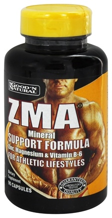 DROPPED: Good 'N Natural - ZMA Mineral Support Formula - 90 Capsules Formerly Anabolic