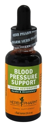 Herb Pharm - Blood Pressure Support - 1 oz. formerly Linden Mistletoe