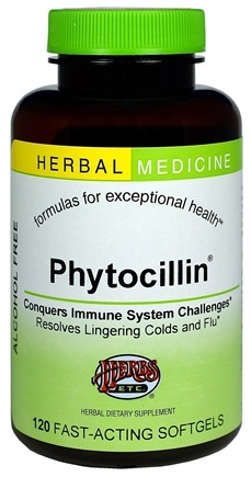DROPPED: Herbs Etc - Phytocillin Alcohol Free - 120 Softgels