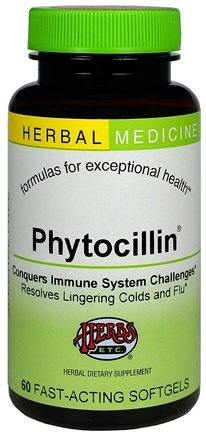 DROPPED: Herbs Etc - Phytocillin Alcohol Free - 60 Softgels