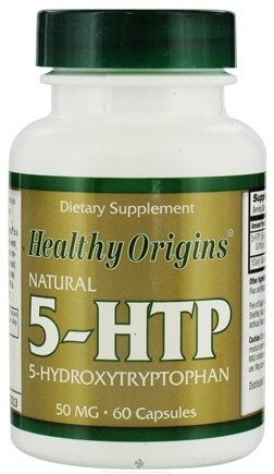 DROPPED: Healthy Origins - Natural 5-HTP Hydroxytryptophan 50 mg. - 60 Capsules CLEARANCE PRICED