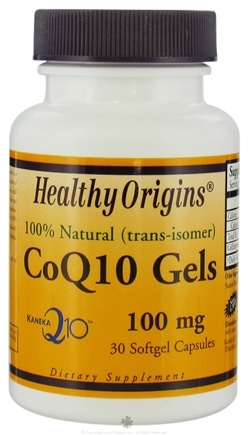 DROPPED: Healthy Origins - CoQ10 100 mg. - 30 Softgels SPECIALLY PRICED