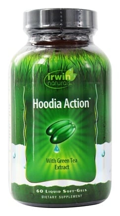 DROPPED: Irwin Naturals - Hoodia Action with Green Tea Extract - 60 Softgels