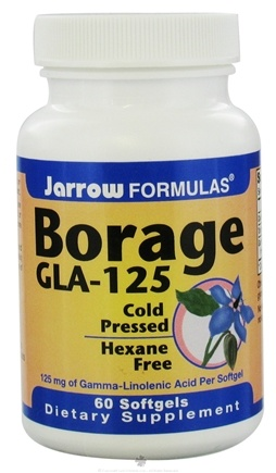 DROPPED: Jarrow Formulas - Borage GLA 125 plus Gamma - 60 Softgels CLEARANCE PRICED