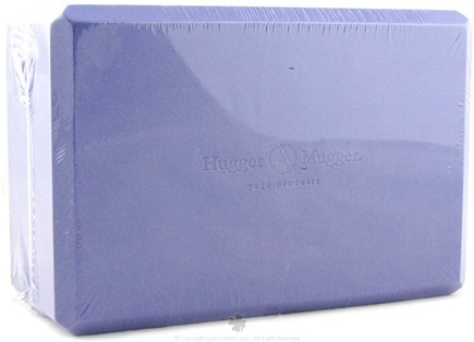DROPPED: Hugger Mugger Yoga Products - Foam Block Purple - 4 in. CLEARANCE PRICED