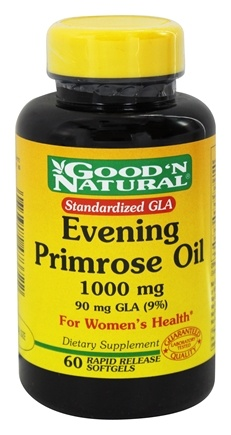 DROPPED: Good 'N Natural - Evening Primrose Oil 1000 mg. - 60 Softgels