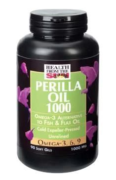DROPPED: Health From The Sun - Perilla Oil 1000 mg. - 90 Softgels