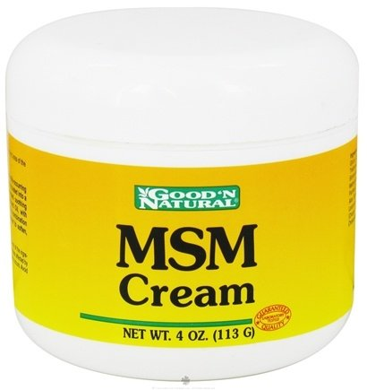 DROPPED: Good 'N Natural - MSM Cream - 4 oz.
