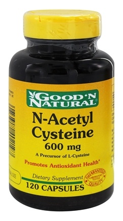 DROPPED: Good 'N Natural - NAC N-Acetyl Cysteine 600 mg. - 120 Capsules