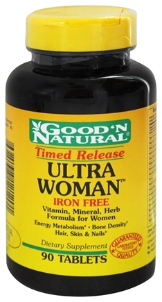 DROPPED: Good 'N Natural - Ultra Woman MultiVitamin Iron-Free Time Release - 90 Tablets