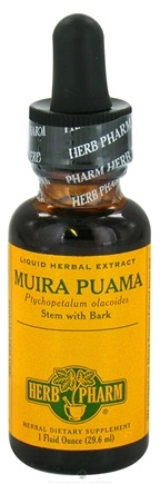 DROPPED: Herb Pharm - Muira Puama Extract - 1 oz. CLEARANCE PRICED