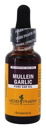 DROPPED: Herb Pharm - Mullen Garlic Compound - 1 oz. CLEARANCE PRICED