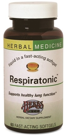 DROPPED: Herbs Etc - Respiratonic - 30 Softgels