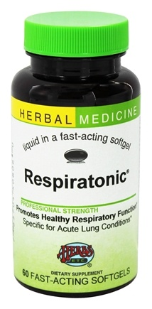 Herbs Etc - Respiratonic Alcohol Free - 60 Softgels
