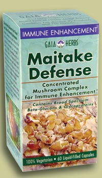 DROPPED: Gaia Herbs - Maitake Defense - 60 Capsules