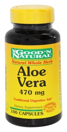 Good 'N Natural - Aloe Vera 470 mg. - 100 Capsules