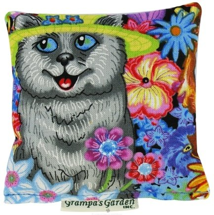 DROPPED: Grampa's Garden - Cat Nip Pillow Garden Cat - CLEARANCE PRICED