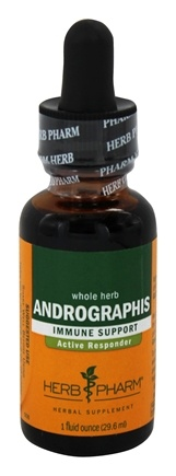 DROPPED: Herb Pharm - Andrographis Extract - 1 oz.