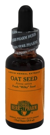DROPPED: Herb Pharm - Oat Seed (Avena Sativa) Liquid Herbal Extract - 1 oz. with Oat Straw Extract