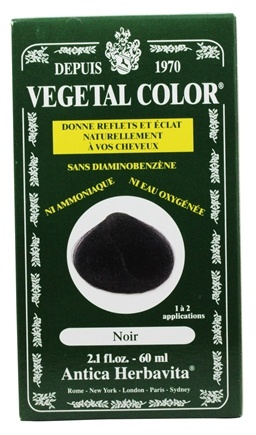 Zoom View - Vegetal Color Black