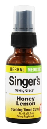 Zoom View - Singer's Saving Grace Soothing Throat Spray