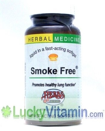 DROPPED: Herbs Etc - Smoke Free- Promotes Health Lung Function - 120 Softgels
