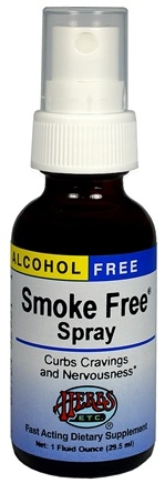 DROPPED: Herbs Etc - Smoke Free Spray Alcohol Free - 1 oz. CLEARANCE PRICED