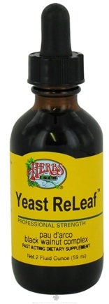 DROPPED: Herbs Etc - Yeast ReLeaf - 2 oz.