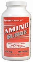 DROPPED: Jarrow Formulas - Amino Surge - 250 Tablets