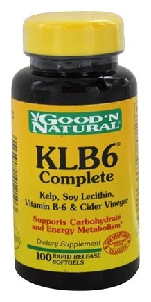 DROPPED: Good 'N Natural - Natural KLB6 Complete - 100 Softgels
