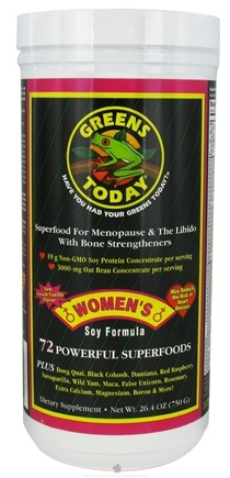 DROPPED: Greens Today - Women's Soy Formula - 26.4 oz.
