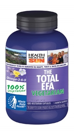 DROPPED: Health From The Sun - The Total EFA 100% Vegetarian - 120 Capsules