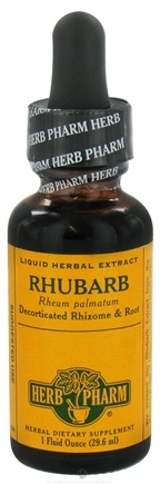 DROPPED: Herb Pharm - Rhubarb Extract - 1 oz. CLEARANCE PRICED