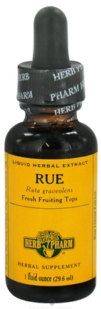 DROPPED: Herb Pharm - Rue Extract - 1 oz. CLEARANCE PRICED