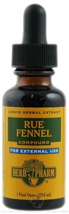 DROPPED: Herb Pharm - Rue Fennel Compound - 1 oz. CLEARANCE PRICED