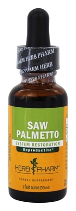 DROPPED: Herb Pharm - Saw Palmetto Extract - 1 oz.