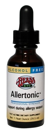DROPPED: Herbs Etc - Allertonic Stinging Nettle/Eyebright Complex- Alcohol Free - 1 oz.