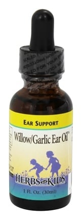 Herbs for Kids - Willow Garlic Ear Oil - 1 oz.