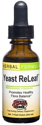 DROPPED: Herbs Etc - Yeast ReLeaf Professional Strength - 1 oz. CLEARANCE PRICED