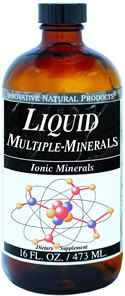 DROPPED: Innovative Natural - Liquid Multiple Minerals - 16 oz.