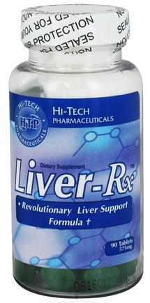 DROPPED: Hi-Tech Pharmaceuticals - Liver-Rx 575 mg. - 90 Tablets
